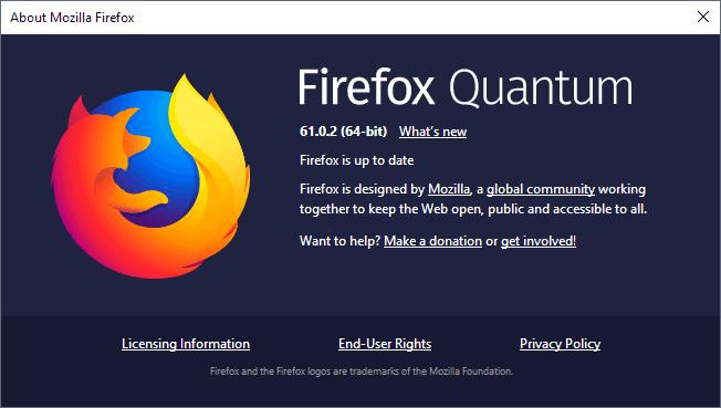 firefox 61.0.2