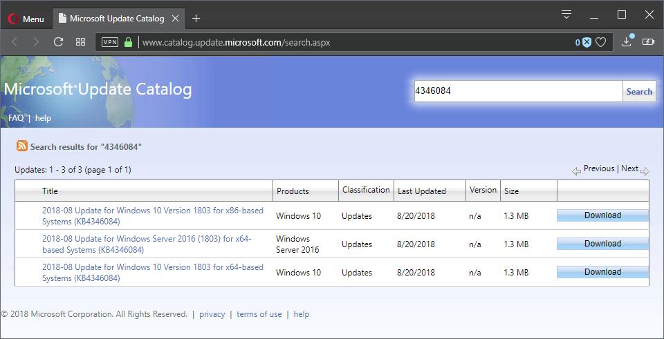 microsoft intel microsoft update kb4346084