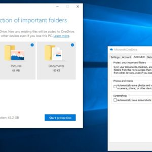onedrive protect important files