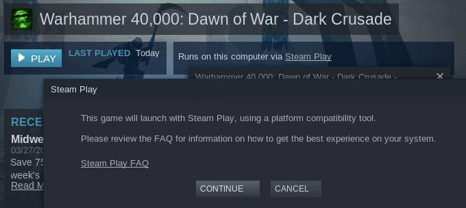 steam play launch