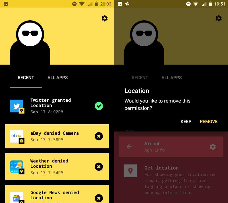 Improve your privacy on Android with Bouncer - gHacks Tech News