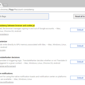 chrome sync google account link