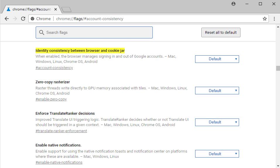chrome sync google account link