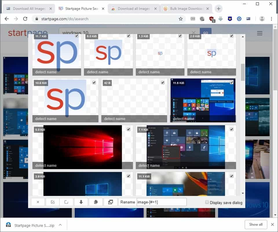 Download all Images extension for Chrome - gHacks Tech News