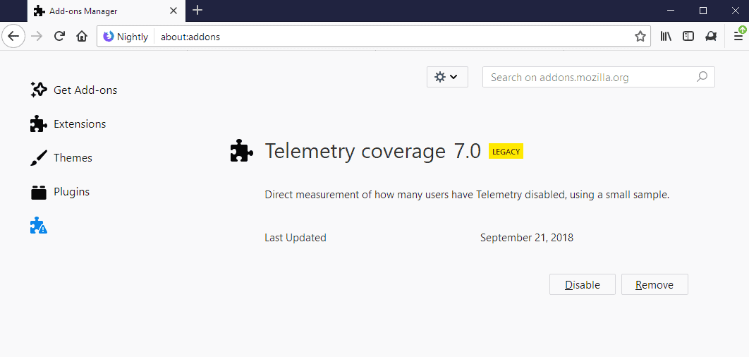 telemetry coverage
