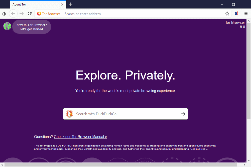 Tor Browser 8 0 is a big update - gHacks Tech News