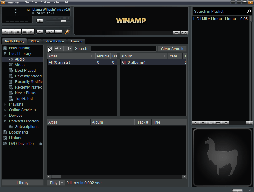 Winamp 5.8 Beta leak appears on the Web