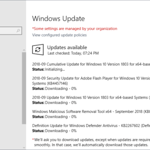 windows security updates september 2018