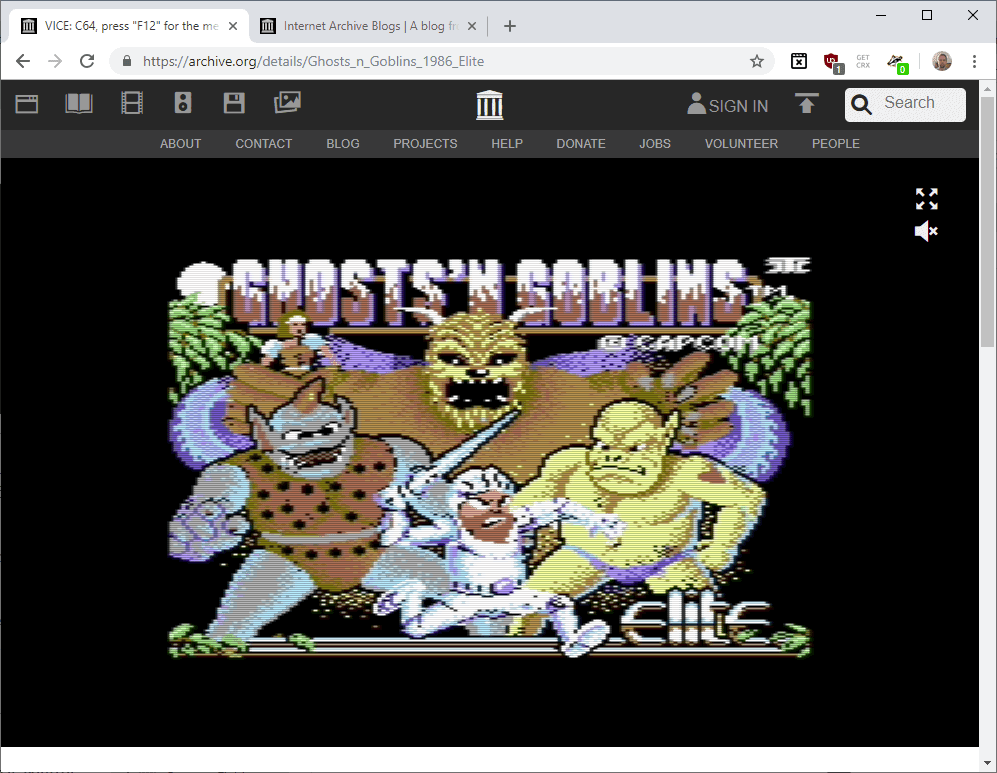 Internet Archive launches C-64 Software emulation library