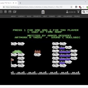 c-64 emulation archive