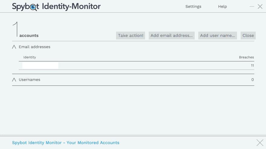 email address breach