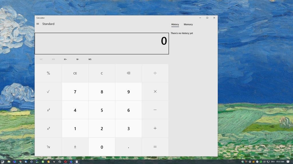 What is up with the huge Calculator in Windows 10, Microsoft