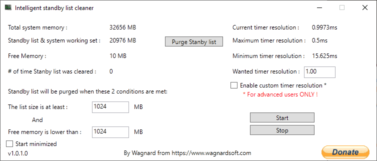 Remove stutter in Windows 10 games with Intelligent Standby