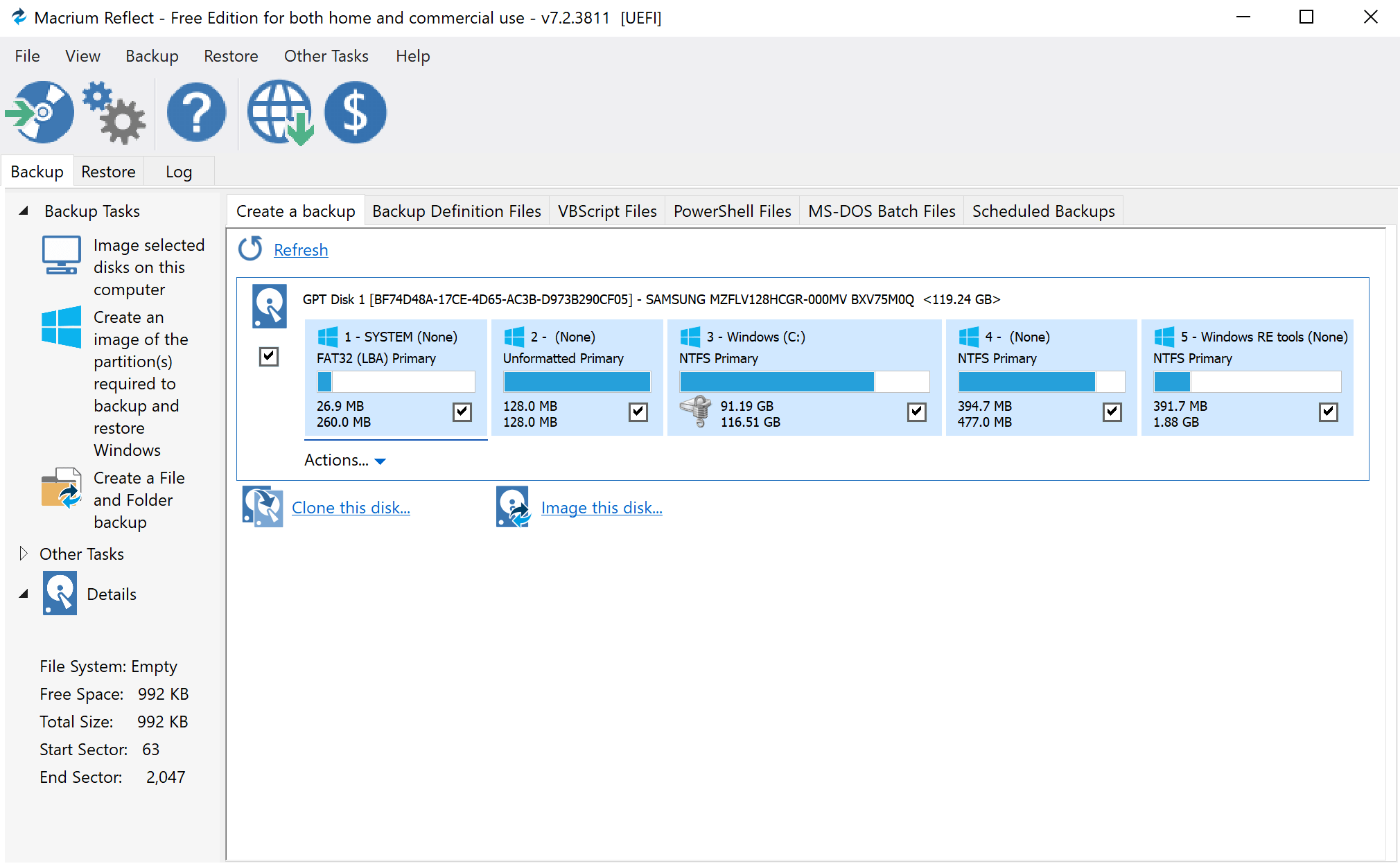 Backup Program Macrium Reflect 7.2 released with lots of changes