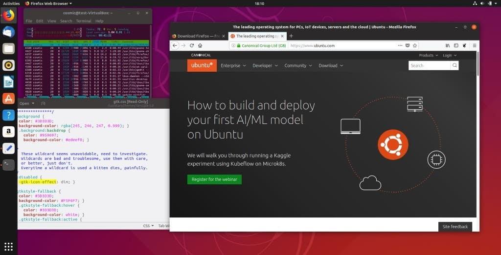 Ubuntu 18 10 released with new desktop theme - gHacks Tech News