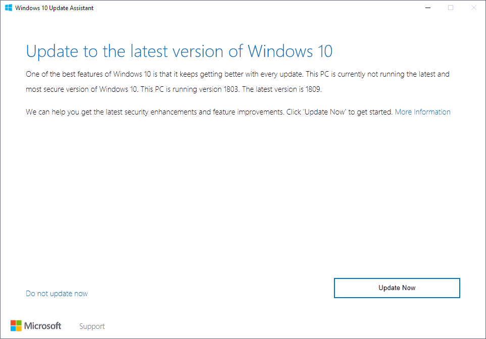 How to download and install Windows 10 Feature Updates