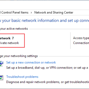 windows network name