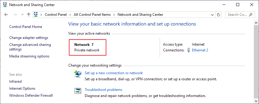 How to change network names on Windows 10 - gHacks Tech News