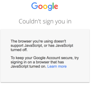 couldnt sign-you in