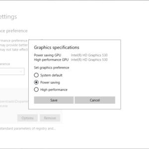 graphics performance