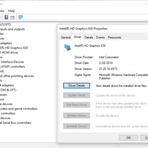 intel drivers windows 10