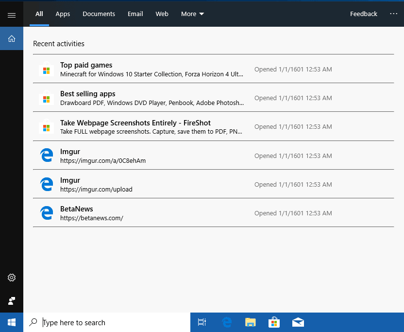 A look at Search changes in Windows 10 version 1903