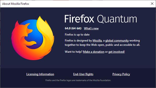 firefox 64.0 release