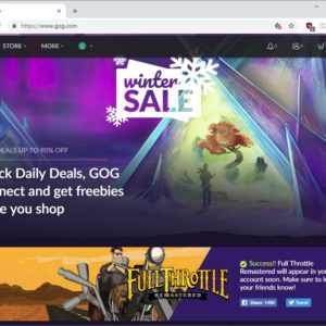 gog winter sale 2018