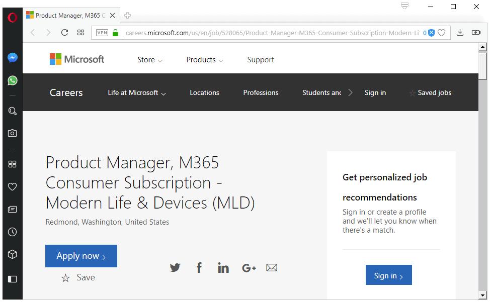 microsoft 365 consumer