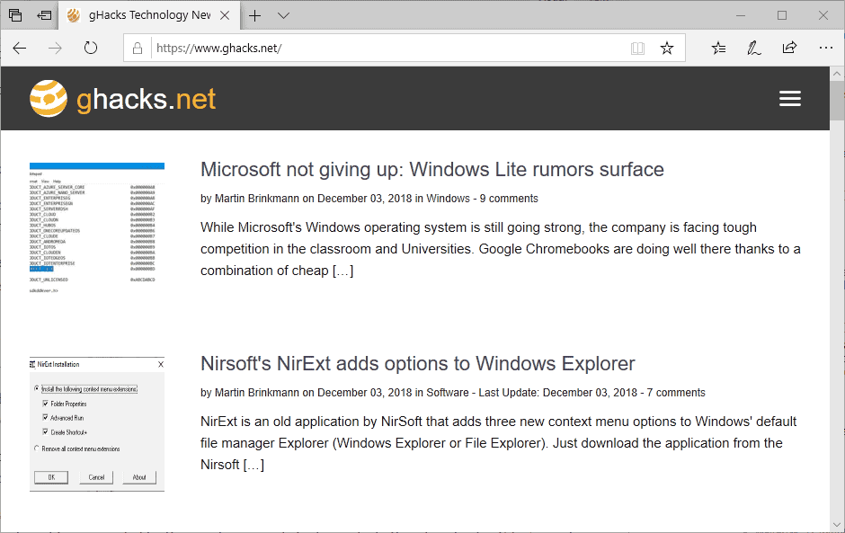 Rumor: Microsoft dropping Edge browser in favor of Chromium