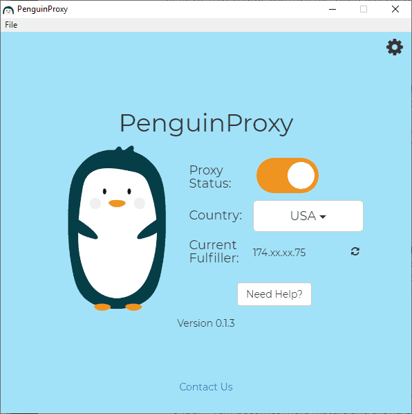 penguin proxy