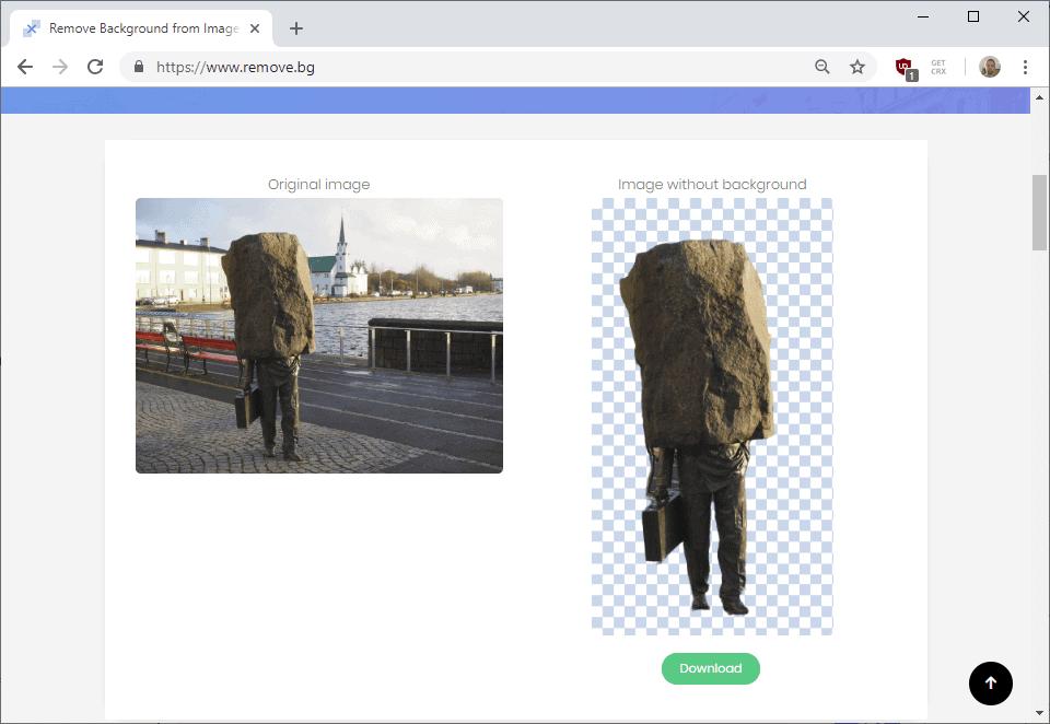remove background photo