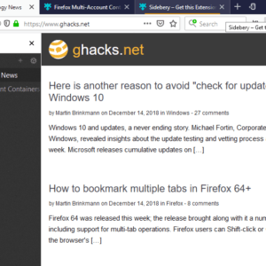 firefox sidebar container tabs