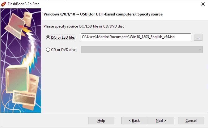 windows 10 create usb