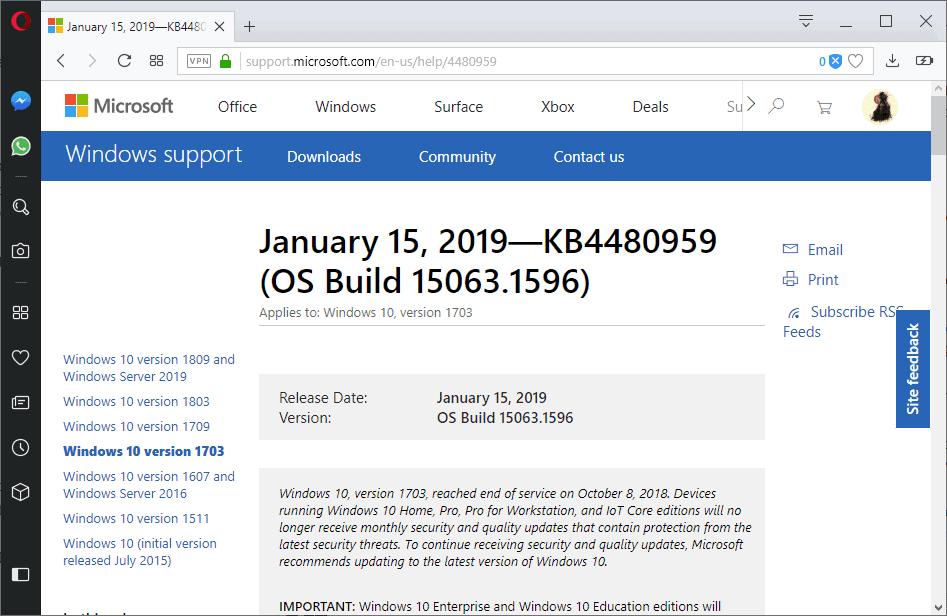 KB4480959