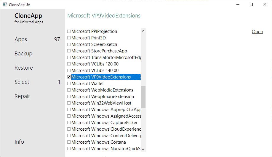 backup windows 10 apps
