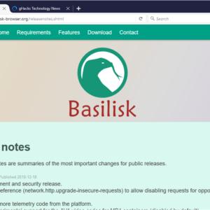 basilisk browser webextensions