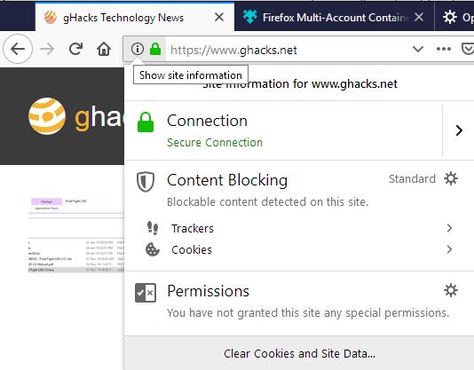 content blocking