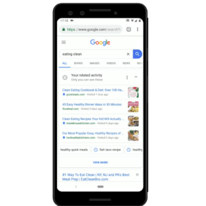 google related activity