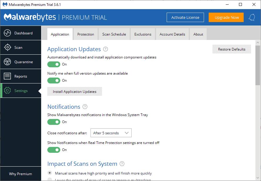 install application updates