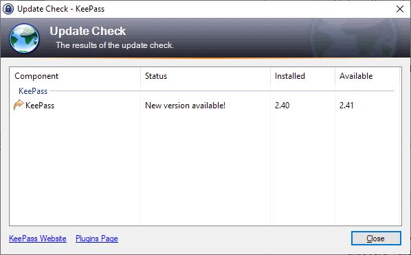 keepass 2.41 update