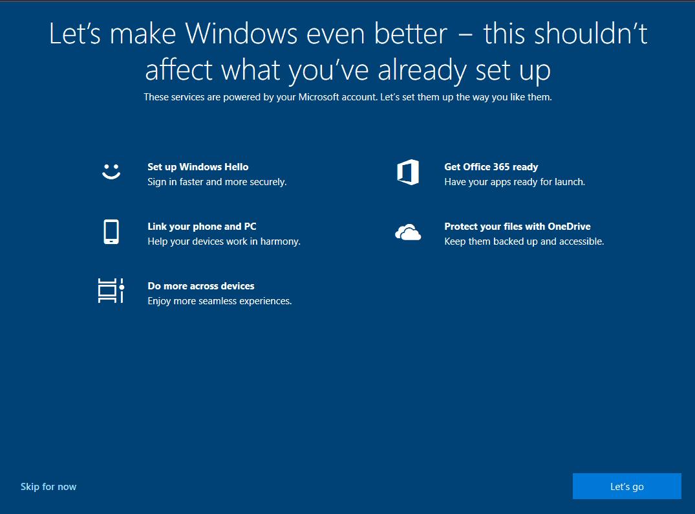 let's make windows better