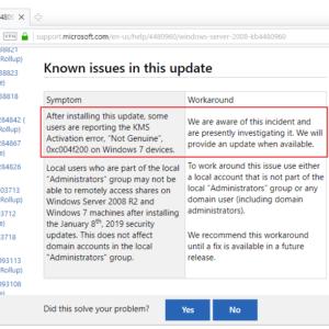 non genuine issue windows 7