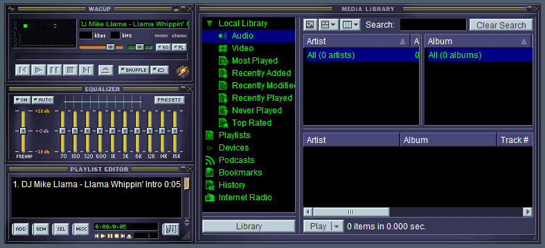 Winamp Community Update Project releases first Winamp Preview