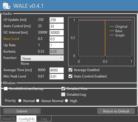 wale config