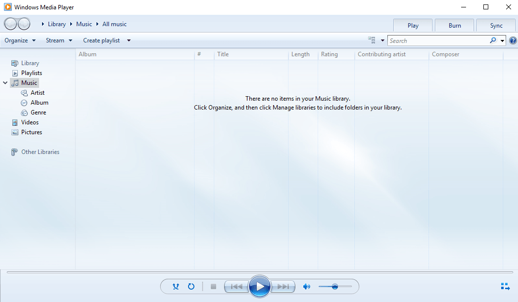 Windows Media Player feature getting retired from Windows 7
