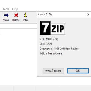 7-zip 19.00
