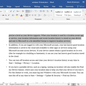 f8 microsoft word copy