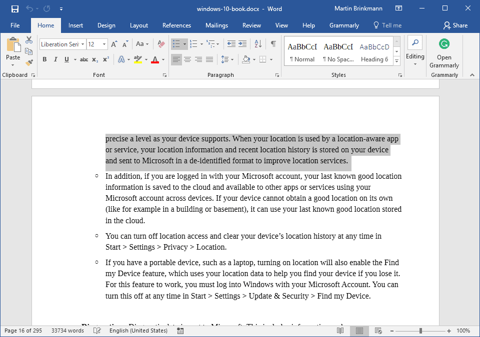 use f8 in microsoft word to select text quickly