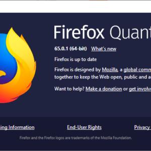 firefox 65.0.1